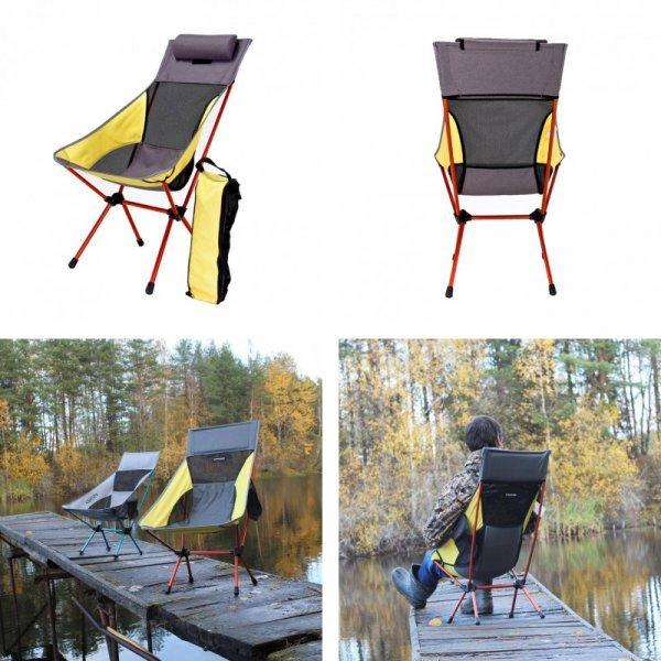 Складной стул с подушкой от BEAR SYMBOL