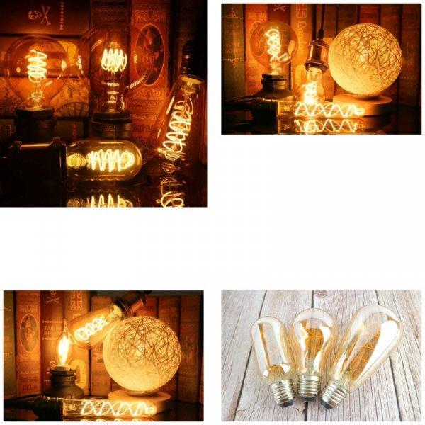 Лампочки со светодиодной спиралью