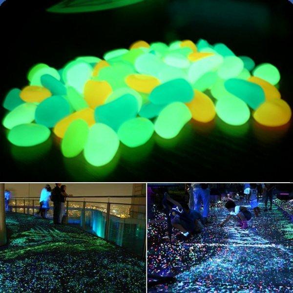 Светящиеся камушки для дачи и дома BIT.FLY (9 цветов, 10 шт.)