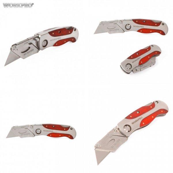 Отличный складной нож WORKPRO