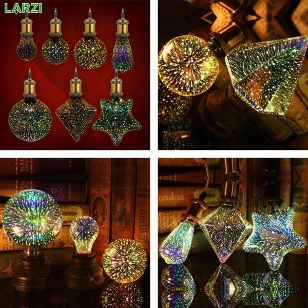 Лампочки фейерверк