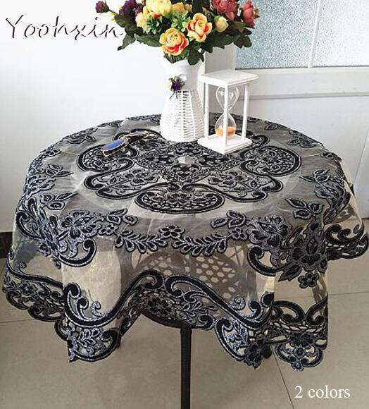 Роскошная кружевная скатерть от YOOHXIN (2 цвета)
