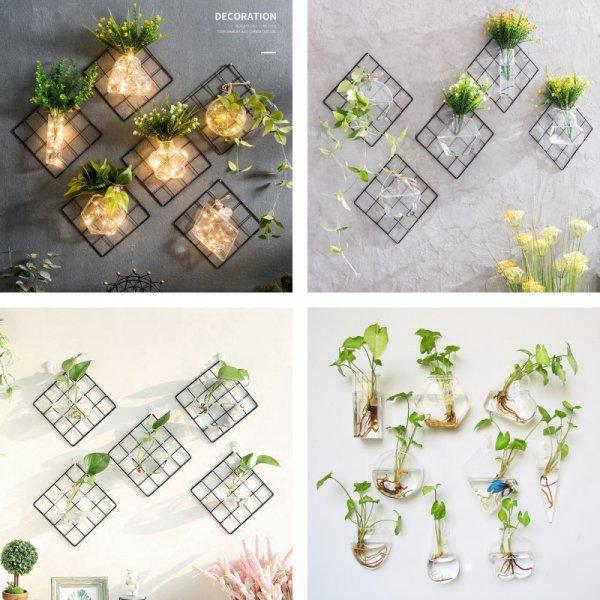 Креативная ваза для цветов LEHUOSHIGUANG (1 шт, 11 вариантов)
