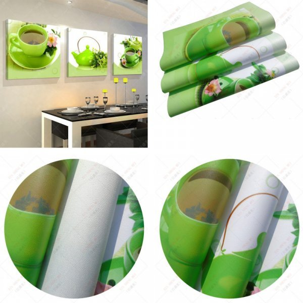 Три холста для столовой или кухни XIN SHENG MEI