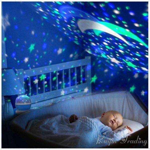 Детский ночник Звездное небо Ascher