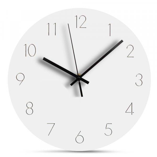 Шикарные настенные часы с тихим ходом Preciser  (30 см, 4 дизайна)
