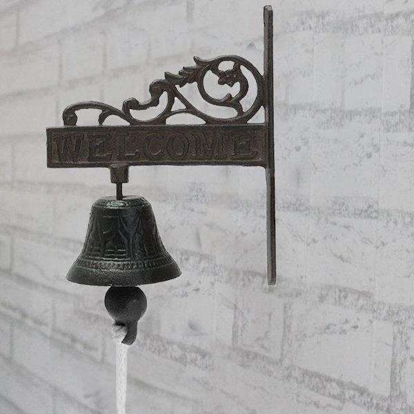 Дверной колокольчик в винтажном стиле