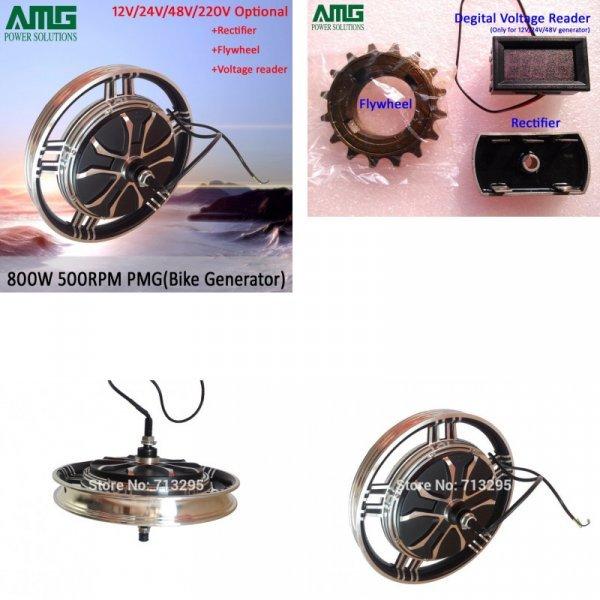 Генератор для велотренажера от AMG POWER SOLUTIONS