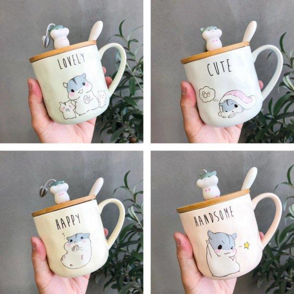 Чашки с хомячками