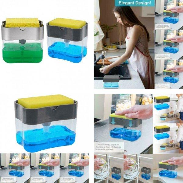 Пресс-дозатор для моющего средства