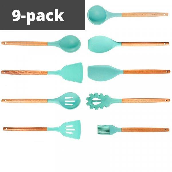 Кухонные принадлежности из силикона от LEESEPH (2 комплектации)