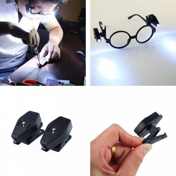 Лампы-зажимы для очков от FANGNYMPH (2 шт)