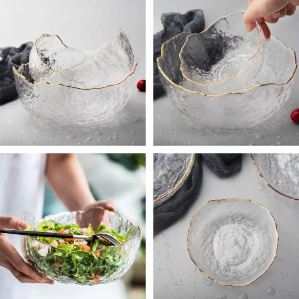 Асимметричная салатница