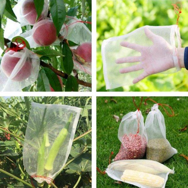 Мешки для защиты плодов от птиц и насекомых (10 шт, 5 размеров)