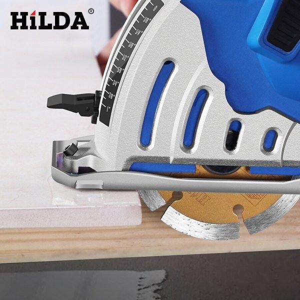 Циркулярная пила с дисками HILDA
