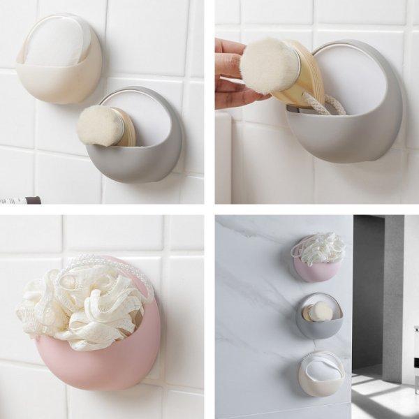 Настенная мыльница для щеток и мыла (3 цвета)