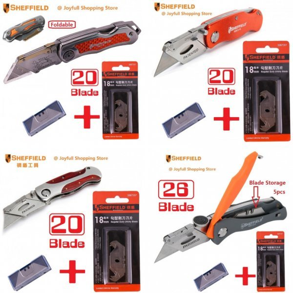 Распродажа ножей от SHEFFIELD (4 вида)