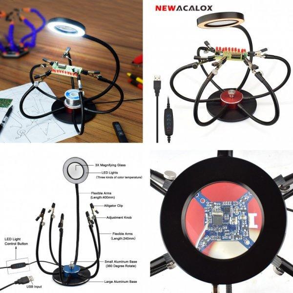 Вспомогательный инструмент для пайки от NEWACALOX (2 комплектации)