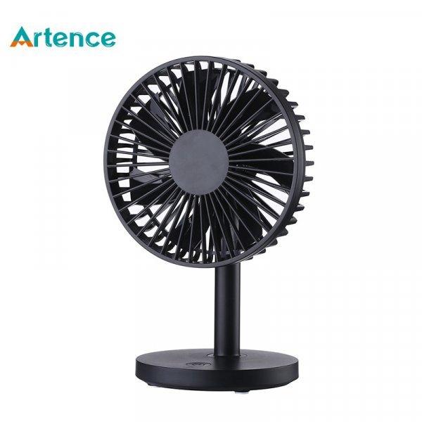Настольный электрический вентилятор Artence с USB-зарядкой (32 цвета, 3 скорости)