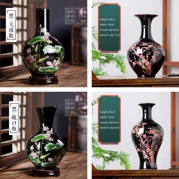 Глазурованная ваза
