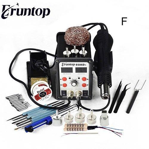 Мощная паяльная станция с феном Eruntop