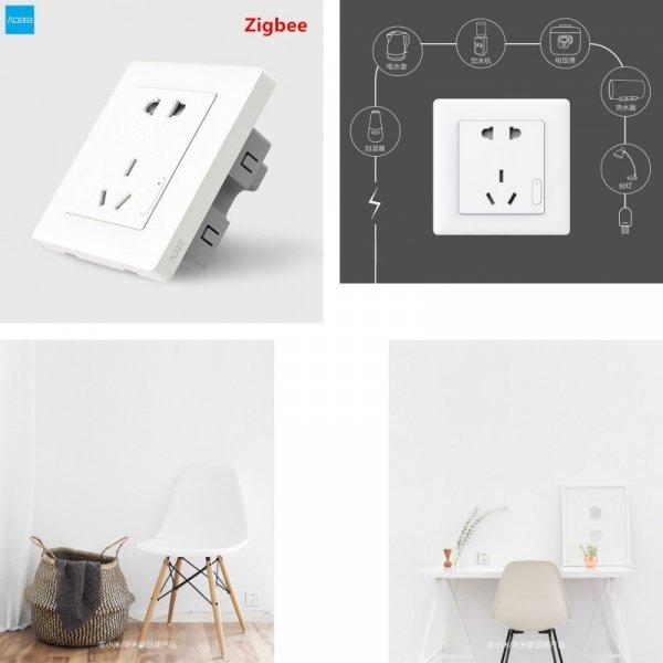 Умная розетка Aqara ZigBee от Xiaomi