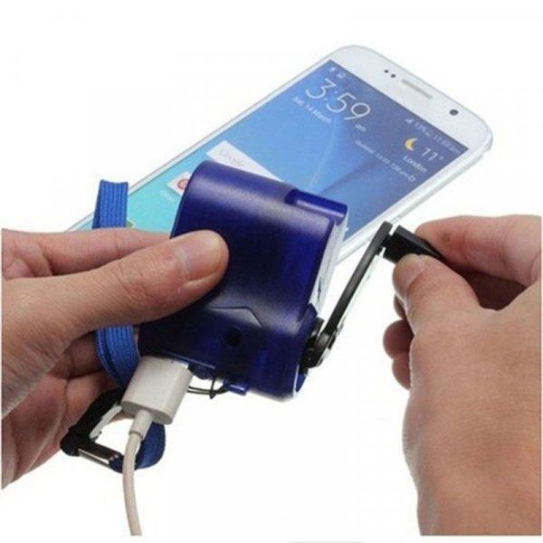 Механическая зарядка для телефона MOONBIFFY ( USB )