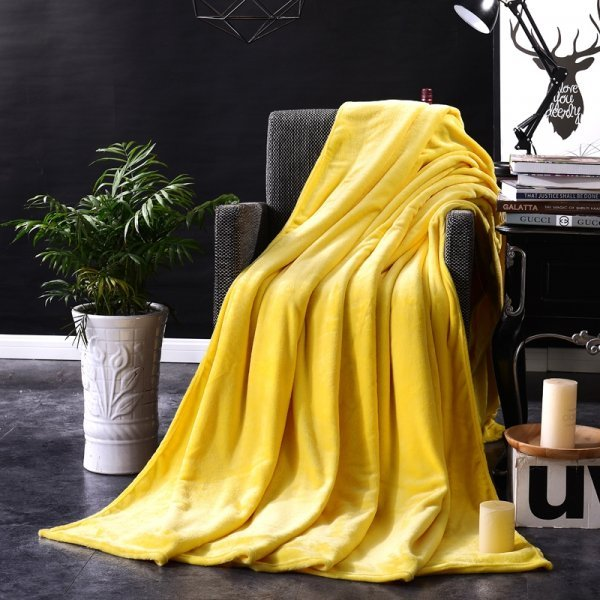 Яркое бархатистое покрывало SLT (15 цветов, 4 размера)