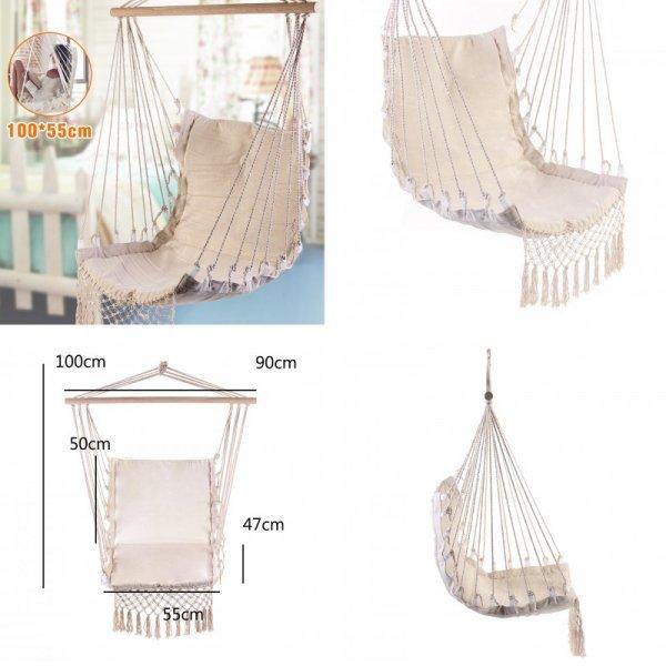 Холщевое подвесное кресло от SGODDE