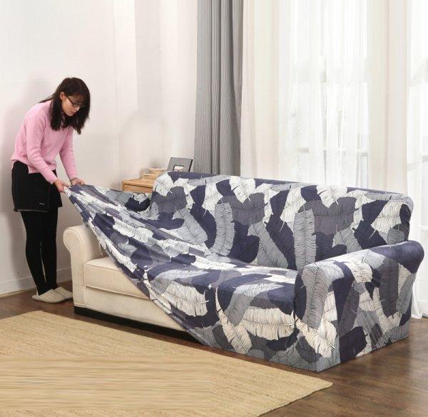 Водонепроницаемый чехол для дивана LIPEI для любого интерьера (22 принта, 1-2-3-4 места)