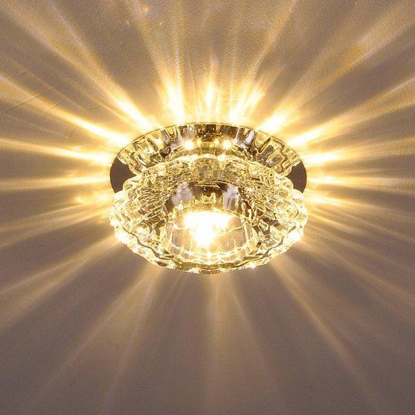 Светодиодный светильник от LONGLANGwi (диаметр 10 см, 5 видов)