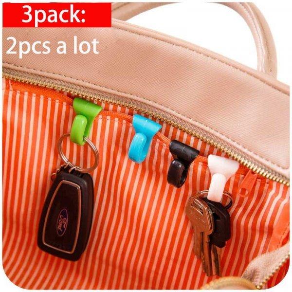 Крючок-держатель для ключей в сумку Vanzlife  (2 шт)
