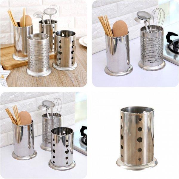 Удобный стакан-сушилка для ложек и вилок