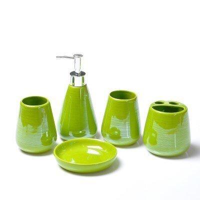 Набор для ванной с мыльницей WSHYUFEI (6 цветов)