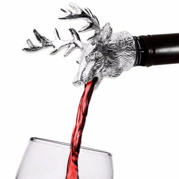 Пробка-аэратор для вина от MONOKWEEPJY