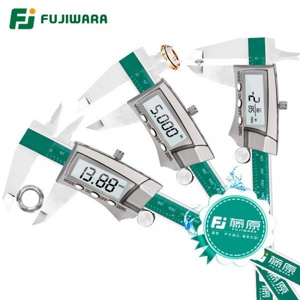 Штангенциркуль с ЖК-дисплеем FUJIWARA (0-150 мм)
