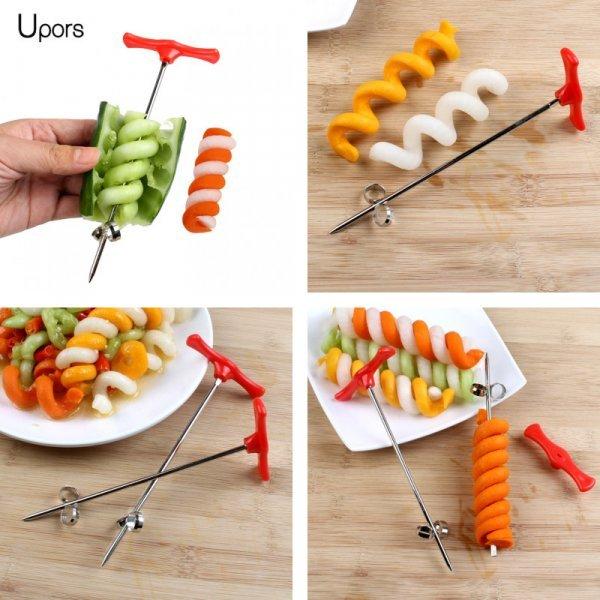 Спиральный нож для овощей и фруктов от UPORS