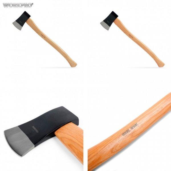 Отличный топор WORKPRO с деревянной ручкой (64.8*9.6 см)