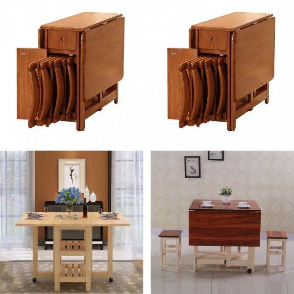 Раскладной комплект мебели для столовой ECMARVELLOUS