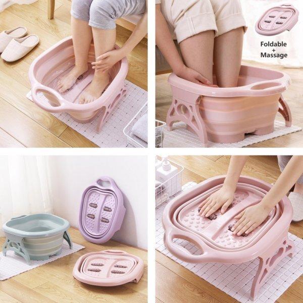 Потративная ванночка для массажа ног от IHAD (3 цвета)