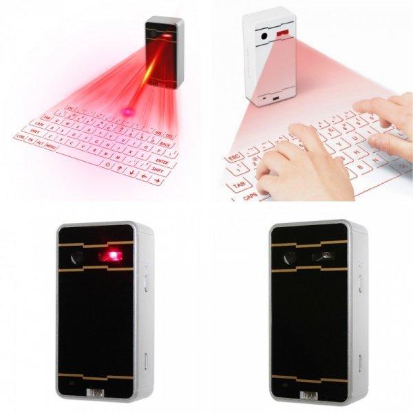 Лазерная беспроводная клавиатура от UNISTORM (3 цвета)