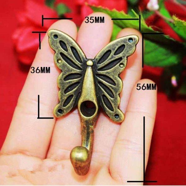 Элегантный крючок Бабочка (35*56 см)