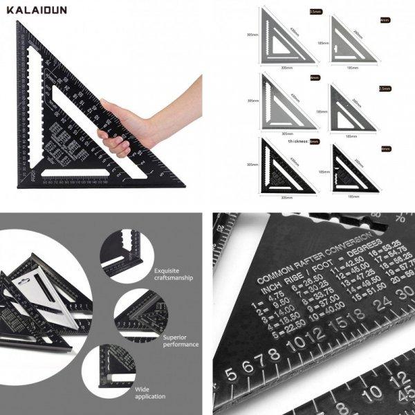 Треугольная угловая линейка KALAIDUN