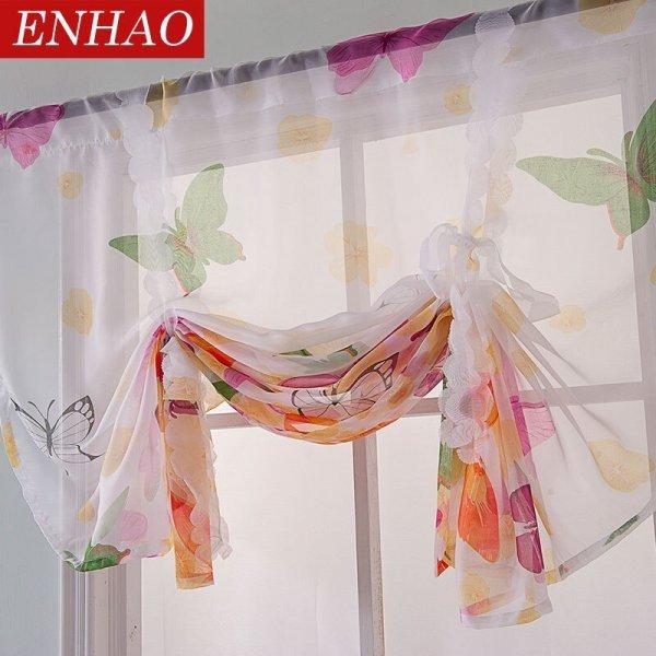 Веселенькие занавески на кухню ENHAO  (12 размеров)