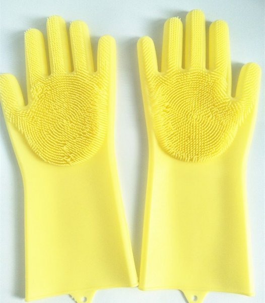 Перчатки для уборки от KOOHOO KITCHEN (7 цветов, 2 размера)