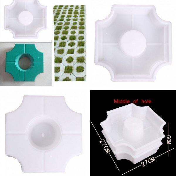 Форма для изготовления тротуарной плитки с отверстиями от COMBIUBIU