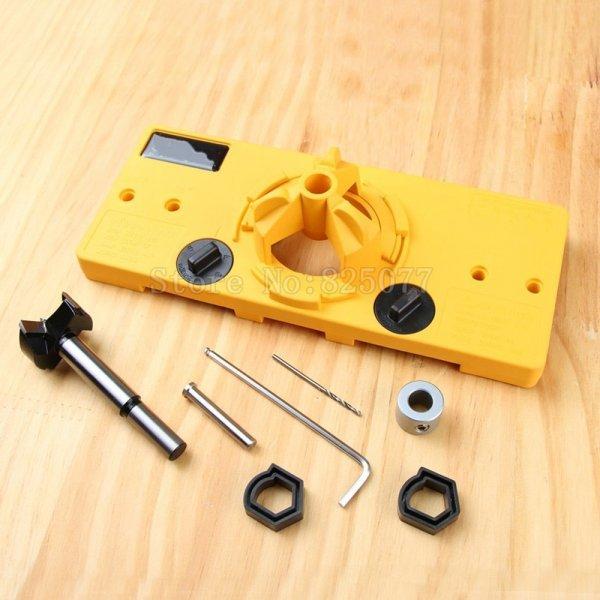 Кондуктор для сверления петель OuXinDiLong (35 мм)