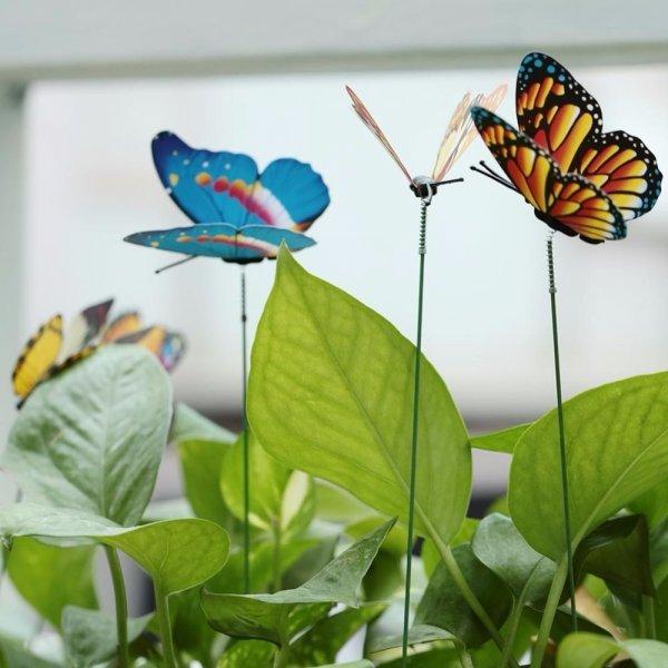 Пестрые бабочки от SOLEDI (15 шт)