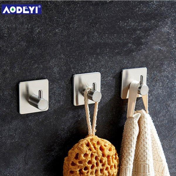 Набор крючков AODEYI для ванной (3 шт, 4.5*4.5 см, 4.5*9 см, 4.5*18 см)