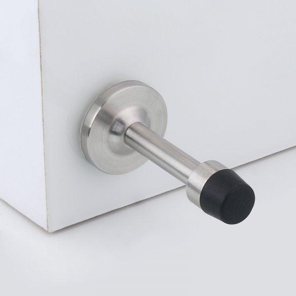 Надежный дверной ограничитель Halojaju (4 цвета, нерж. сталь, 75*37*20 мм)